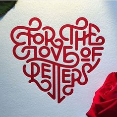 Creative Typography, Love, and Letters image ideas & inspiration on Designspiration Typography Love, Creative Typography, Typography Letters, Vintage Lettering, Lettering Design, Hand Lettering, Beautiful Lettering, Beautiful Fonts, Graham