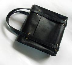 Handmade custom leather bag