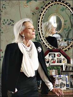 Decadent Old Bitches: Nan Kempner: The original social X-ray