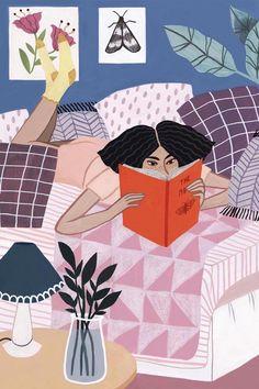 Illustration by Rachael Dean #illustrationart #illustratedladies
