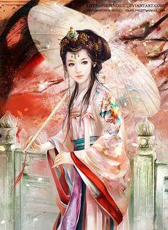 Beautiful Digital Illustrations by Phoenix Lu | Cruzine