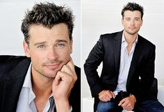 Tom Welling.  Talk about aging well - I can finally stop feeling like a perv for thinking naughty thoughts about him!