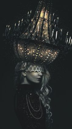Chandelier by Iurii Ladutko, via Behance