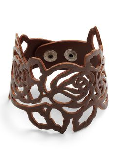 Cool leather cuff