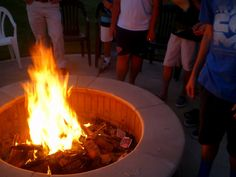 Bad Habit Bonfire - camp devotional if we want our light to shine we need to get rid of the bad habits in our lives