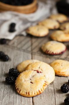 Blackberry Marscapone Hand Pies | thekitchenmccabe.com  this will be a favorite! and fun for the kids to make.