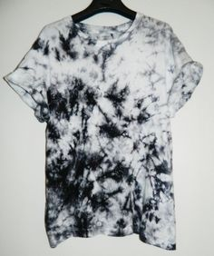 Tie Dye T-Shirt acid wash T-shirt hipster by TIEDYETOPSHIRTS