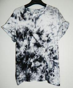 Tie Dye T-Shirt acid wash T-shirt hipster by TIEDYETOPSHIRTS