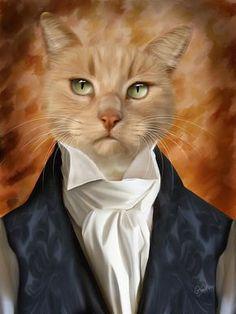 Amahl The Gentleman by Garry West, via Behance