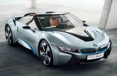 Pin of the day....BMW i8 Spyder Top Down!! #Convertible