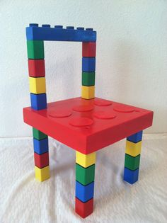 Lego Chair on Etsy, $40.00