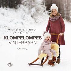 Klompelompes vinterbarn Winter Hats, Winter Jackets, Knitting Books, Baby Kids, Crochet Hats, Sweater, Creative, Babies, Threading