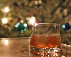 A drink to get you through the holidays: The Gingersnap Cocktail.
