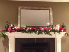 My Holiday Mantle 2012