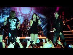 Amaranthe - Hunger live Snina 2014