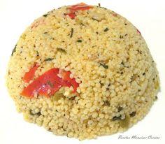 Recetas Monsieur Cuisine: Cuscús con Vegetales