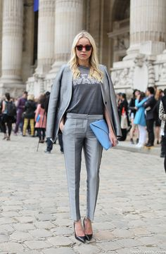 vintage tee & suit in paris...via leeoliveirass