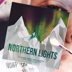 Jeffree Star Cosmetics - Northern Lights Supreme Frost Pro Palette www.at
