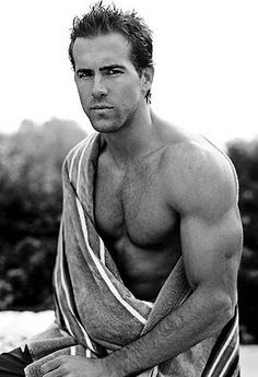 Ryan Reynolds  Yea , Why not ?!!! YUM