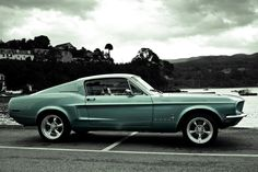 68 Mustang Fastback Love This <3