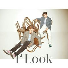 Jihoon and Woojin for 1st Look Korea