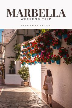 Take a virtual tour of Marbella old town and coastline on  my blog! One of the most stunning place on Costa del Sol.   #spain #andalusia #marbella #costadelsol