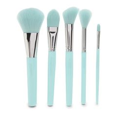 Forever21 Cosmetic Makeup Brush Set ($13) ❤ liked on Polyvore featuring beauty products, makeup, makeup tools, makeup brushes, makeup blending brush, blender brush, foundation brush, makeup powder brush and forever 21