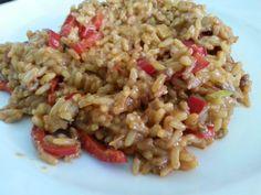 Reis Resteverwertung (Rice leftovers) | Küchentigers Rezepte Blog