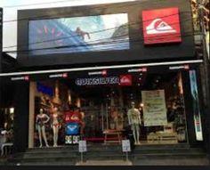 On Jl. Laksamana, QuickSilver is representing a large flagship store. 4 min. Walk from AyatanaBali.