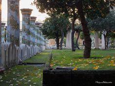 Un posto magico nel cuore di #Napoli. Il Chiostro Maiolicato del Complesso Monumentale di Santa Chiara