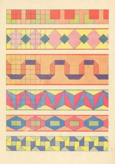 geometric patterns, via design for mankind