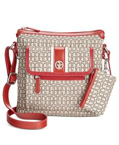 Giani Bernini Annabelle Signature Crossbody Bag Only At Macy S Handbag Accessories