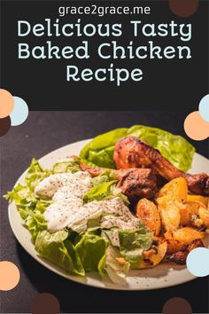 Delicious Tasty Baked Chicken Recipe Chili Dip, Spicy Chili, Tasty, Yummy Food, Chicken Drumsticks, Lifestyle Group, Baked Chicken Recipes, Blogging