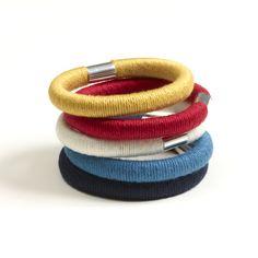 Image of Wrap Bangle - Red