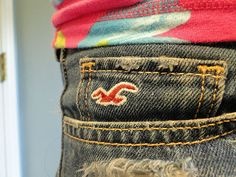 hollister jeans the only jeans I feel that fit everyone well