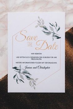 Invitation Cards - Save the Date - Minimalist Card - a designer piece of . Invitation Cards - Save the Date - Minimalist Card - a unique product by papierzauber_ on DaWanda . Save The Date Invitations, Fun Wedding Invitations, Rustic Invitations, Wedding Cards, Invites, Wedding Favors, Diy Save The Dates, Wedding Save The Dates, Save The Date Cards