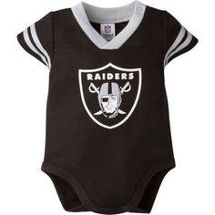 NFL Oakland Raiders Baby Boys Mesh Dazzle Bodysuit - Walmart.com b0d84673d