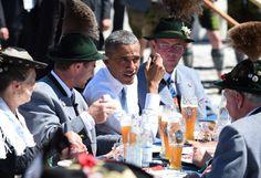 Gemeinderat in Krün Auf eine Weißwurst mit Obama