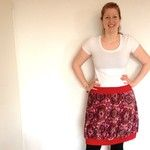 Ballon-Jiupe aus Manchester-Stoff. Freche Rot-Töne. Betty's Atelier: Jupe made by Sabrina. Manchester, Skirts, Fashion, Atelier, Red, Moda, Fashion Styles, Skirt