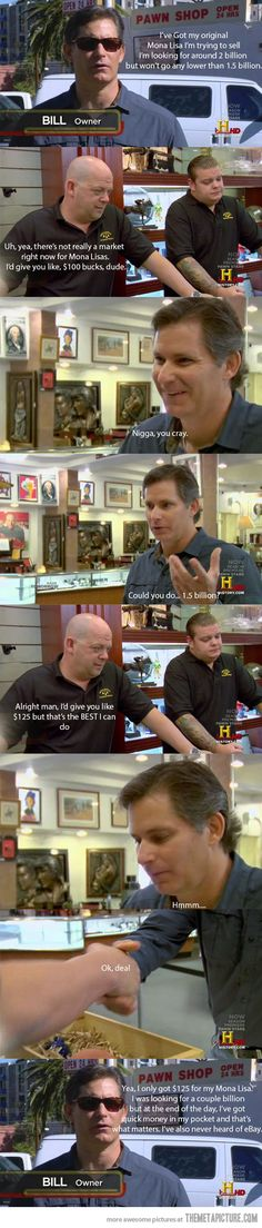 Every episode of Pawn Stars ever…