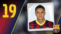 Imagen oficial de Afellay con la camiseta del FC Barcelona