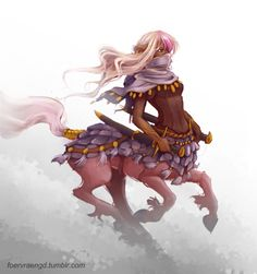 fanpro986 centaur warrior Queen! by FOERVRAENGD female elf ranger armor clothes clothing fashion player character npc | Create your own roleplaying game material w/ RPG Bard: www.rpgbard.com | Writing inspiration for Dungeons and Dragons DND D&D Pathfinder PFRPG Warhammer 40k Star Wars Shadowrun Call of Cthulhu Lord of the Rings LoTR + d20 fantasy science fiction scifi horror design | Not Trusty Sword art: click artwork for source