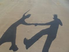 Shadow Swing Outs at the Beach!
