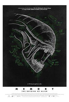 Alexandre O. Philippe beleuchtet in der Dokumentation Memory - The Origins of Alien die Hintergründe des Sci-Fi-Klassikers Alien. Alien Movie Poster, Aliens Movie, Movie Posters, The Power Of Myth, Alien 2, Life Of Crime, Ridley Scott, The Exorcist, Sundance Film Festival