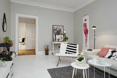 light gray living room - Google Search