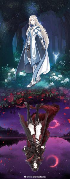 Solomon and Gilgamesh Cartoon As Anime, 5 Anime, Anime Art, Nikki Love, Anime Muslim, Anime Love Couple, Handsome Anime Guys, Manga Boy, Mirai Nikki
