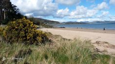 Visit Donegal  Taking the sea air on Rathmullan beach along Lough Swilly