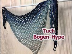 Tuch Bogen-Hype EINFACH Häkeln mit 1 BOBBEL von Woolly Hugs