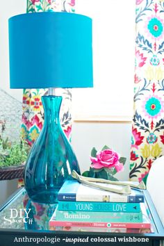 DIY Anthropolgie inspired colossal wishbone whatever! i just like the overall look. Crafts To Make, Diy Crafts, Shabby Chic Decor Living Room, Diy Shows, Turquoise Glass, Shabby Chic Style, Creative Home, Just In Case, Diy Projects