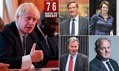 Boris Johnson fires Brexit warning to MPs plotting with Jeremy Corbyn Mr Johnson, Boris Johnson, Poll Tax, Tory Party, Next Election, Eu Referendum, Do Or Die, Public Information